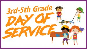 3rd-5th Grade Day of Service