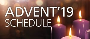 Advent 2019 Schedule