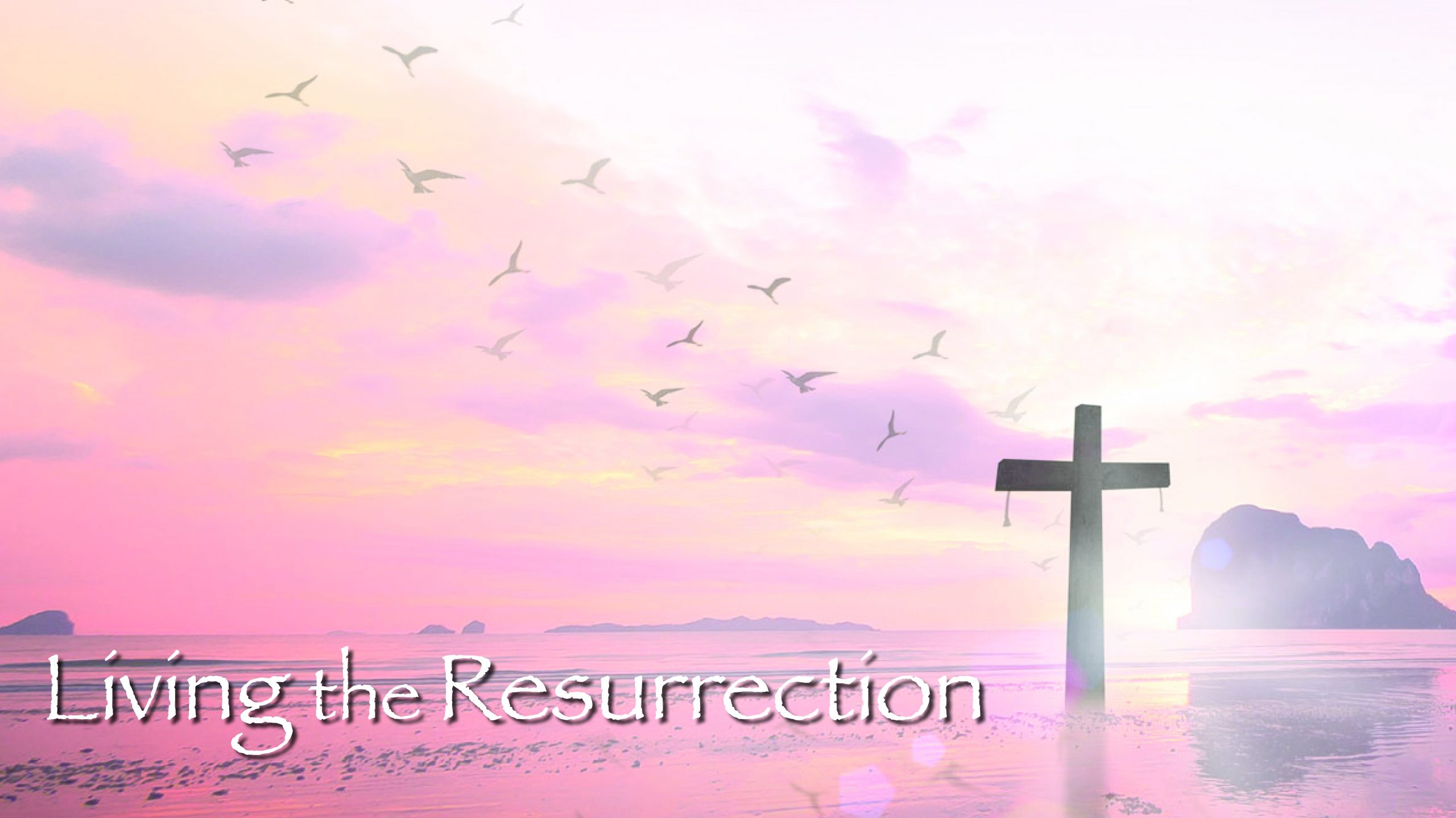 Living the Resurrection: out of breath